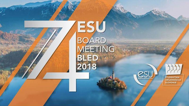 74th European Student Union Board-meeting